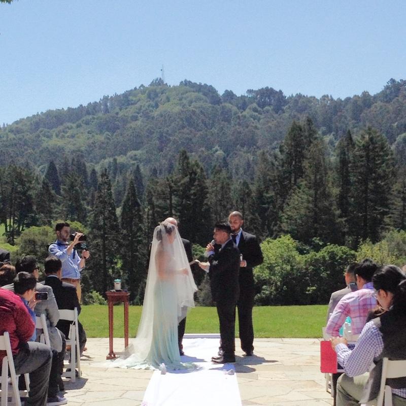 MJS Weddings: Carisse & Chris' Wedding at The Brazilian Room at Tilden Park in Berkeley, CA (part1)