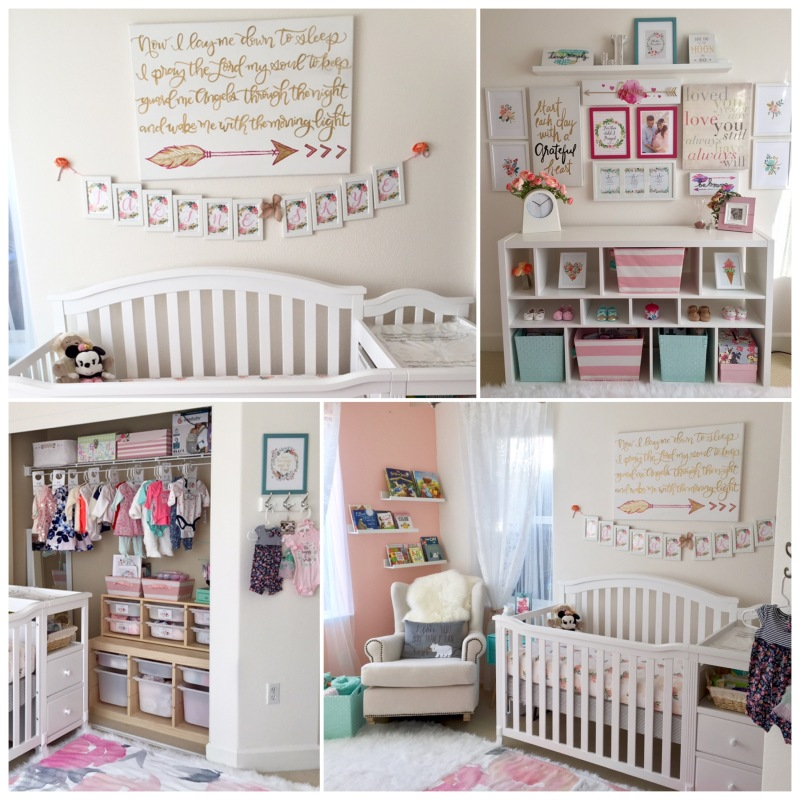 Nursery Room (Boho, Shabby Chic, Florals, Arrows & Scriptures)